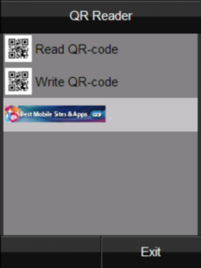 Free QR Reader for Java - Opera Mobile Store