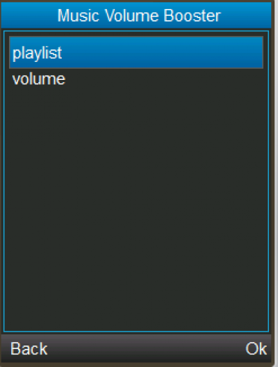 Music volume Booster for Java - Opera Mobile Store