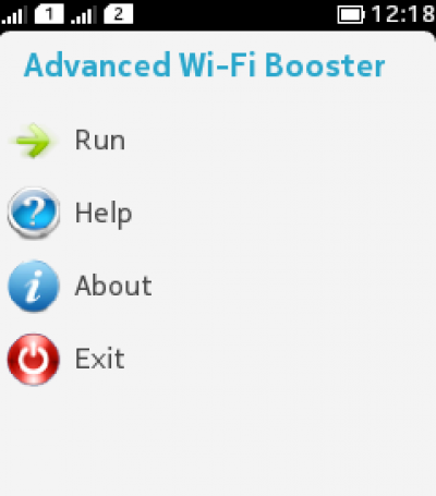 Advanced WiFi Booster FREE for Java - Opera Mobile Store