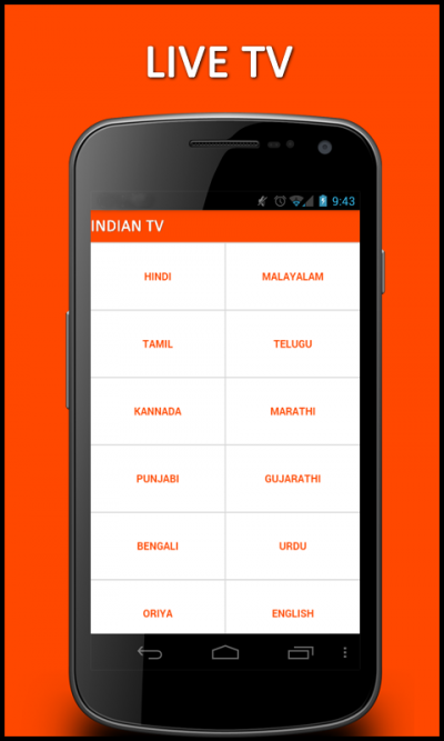 INDIAN Pocket TV for Java - Opera Mobile Store