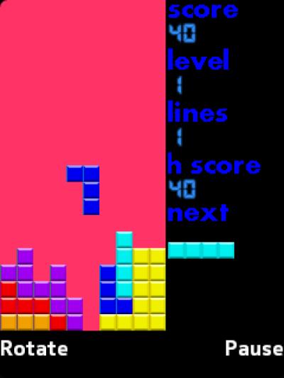 Tetris Classic for Java - Opera Mobile Store